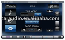 2 din car dvd with bluetooth/DVD/CD/MP4/WMA/FM/FM/TV/USB/SD one year warranty