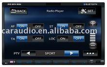 2 din car dvd with bluetooth/DVD/CD/MP4/WMA/FM/FM/TV/USB/SD gps