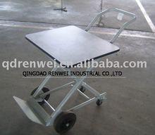 Tool cart, Aluminium platform trolly, four wheels cart