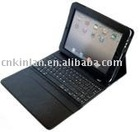 PU Leather Case Bag with Bluetooth Keyboard for iPad