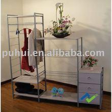 good looking modular clothes shelf