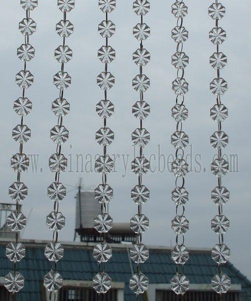 wedding centerpiece chains crystal chains beaded curtain