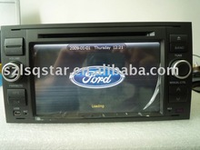 Free shipping Car dvd for old ford focus 05-07with steering, radio, tv, ipod, bluetooth, red & green backlight available ST-9720