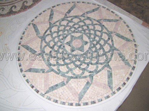mosaique en marbre de Chine