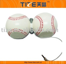 TZ-SP34 Hot mini ball speaker, Mini speaker, baseball speaker our patented mini ball speaker