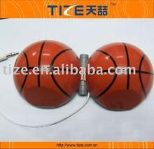 TZ-SP36 Hot Mini ball speaker , basketball speaker our patented mini ball speaker