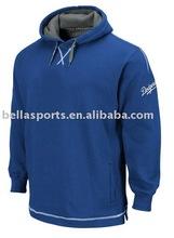 2012 Customized 80% Cotton With 20% Polyester Baseball Sweatshirt FLEECE Jacket