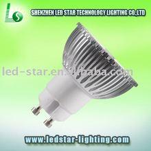 3W(3*1W) LED spotlight GU10 DC12V-24V Merchandising, exhibition stands lighting(CE & ROHS) LS-CS-02A