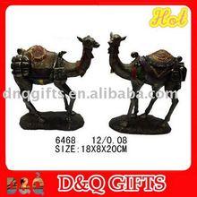 Camel figurine in resin