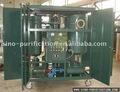 aceite de la turbina de la planta de filtración con remolque