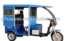 Three Wheeler Three Seated Battery Operated 60v Electric Tricycle