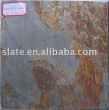 multi-color split surface slate anti slip floor tile
