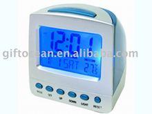 digital talking chime alarm clock with calendar