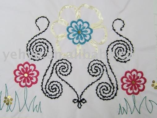 Como bordar flores - Imagui