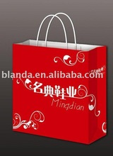 2012 paperboard paper bag with customized logo