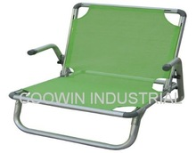 aluminum beach lounger