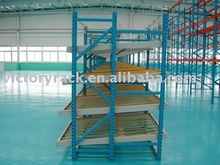 order pick module carton flow racks