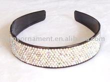 Fashion plastic rhinestone headband