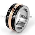 Ld 091 - acero inoxidable rúnicas anillos de la joyería
