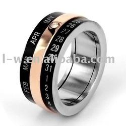 LD - 091 Stainless Steel Rune Rings Jewelry