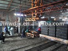 Wangda Brand India aac block with tunnel kiln