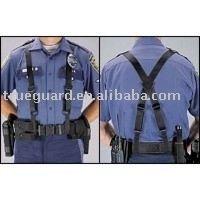 Nylon Web Duty Police Suspenders