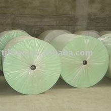 Green Polyester felt for bitumen roofing felt