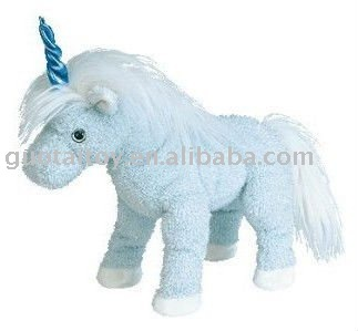 Blue unicorn Plush Stuffed Toy