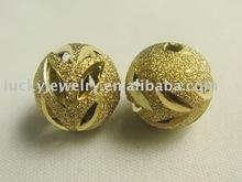 Brass carved bead craft in bulk
