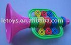 small plastic toys trumpet