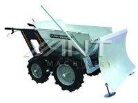 power barrow--snow plough