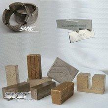 Diamond segment for granite marble concrete asphalt limestone