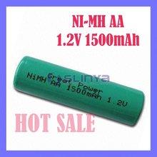NIMH Power 1.2V 500MA 1500mAh Battery