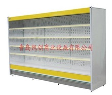 multideck display refrigerator of fresh, chilled, and frozen food/supermarket showcase/remote multi-deck/integral multi-deck