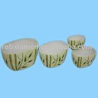 earthenware flower pot