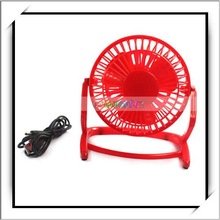 Mini USB Laptop/PC/Notebook Quiet Cooler Cooling Fan Red