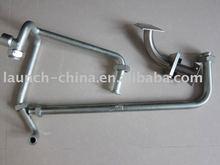 anchor head precision -bend pipe