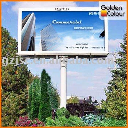 Personnalisé publicité extérieure billboard
