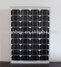 SBG60W Glass Solar Panel, Mono Type