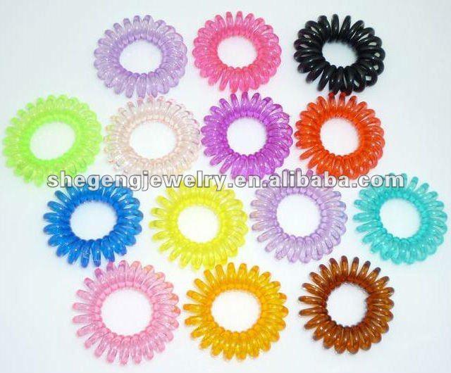 plastic ponytail holder. Hair Ponytail Holder(China