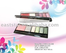 Multi-Color Eyeshadow with Blusher Miss Rose 7001-411M