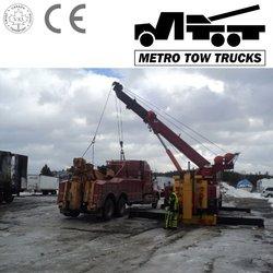 360degree rotating crane wrecker