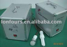 portable solar energy power plant 300W/12V