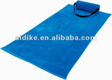 beach towel with pillow