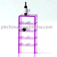 Acrylic Wine Rack,Plexi Wine Display