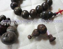 Rosewood buddha bead bracelet