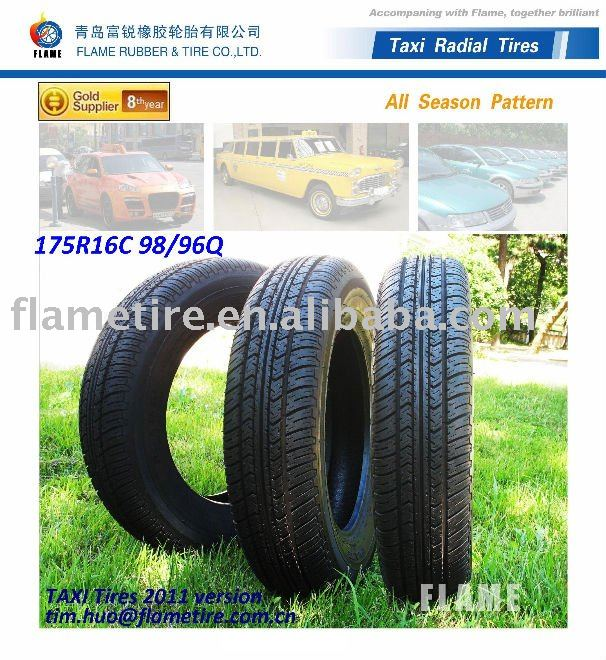 All season London Taxi tire