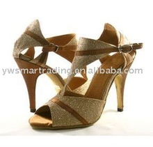 2012 Ladies Latin dance shoe sexy dance shoes leather sole dance shoes Latin dance shoes