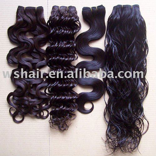 Smooth Indian kinky curly remy hair weave