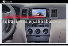 """6.2"""" toyota radio/GPS HILUX car DVD gps NAVIGATION with Can-bus USB,SD&MMC slot,with Bluetooth/iPod function"""